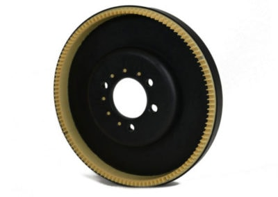 Toothed disk for high-speed sorting of coins