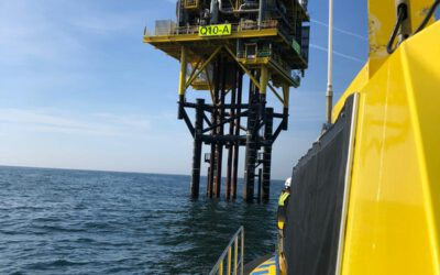 Hoogvliet Offshore maintenance at Tulip Q10