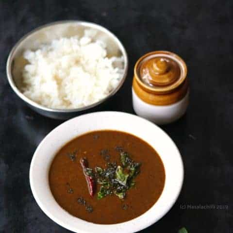Milagu Kuzhambu - South Indian Black Pepper Gravy