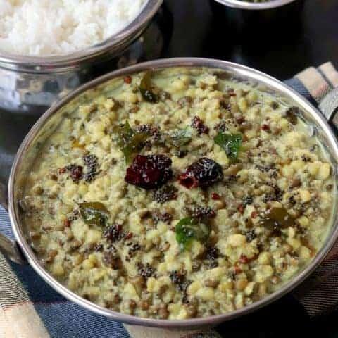 Kerala Style Cherupayar Curry