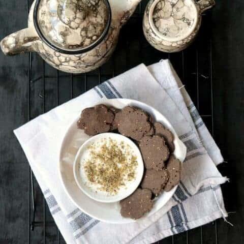 Buckwheat Crackers - Easy Gluten Free Vegan Snack