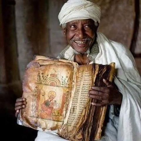 Written in Ge'ez an ancient dead language of Ethiopia it's nearly 800 years older than the King James Version and contains 81-88 books compared to 66. It includes the Book of ENOCH, Esdras, Buruch and all 3 Books of MACCABEE, and a host of others that was excommunicated from the KJV.