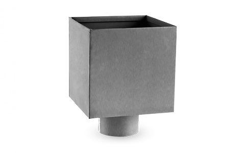 Zbiornik zlewowy, kosz zlewowy - kwadratowy