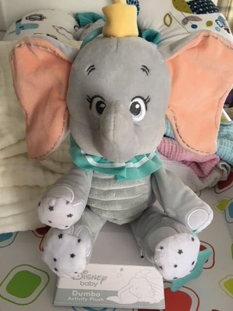 Disney Dumbo Activity Plush baby toy