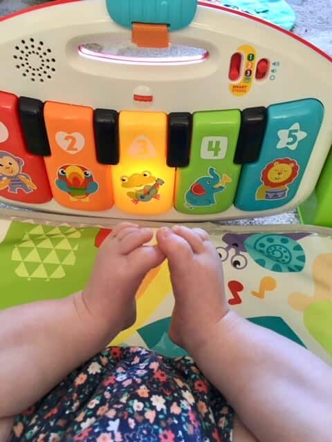 Fisher-Price® Deluxe Kick & Play Piano Gym