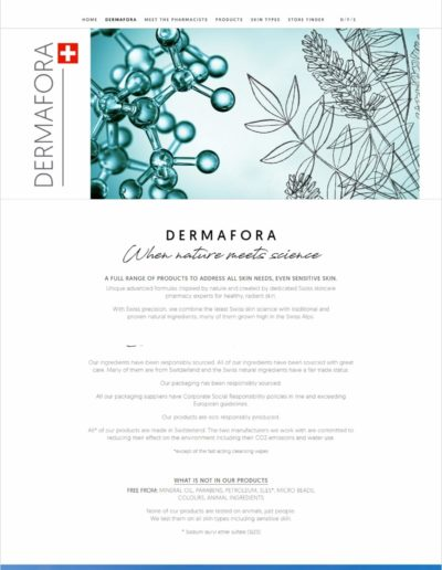 Dermafora.ch - About