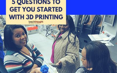 5 Questions And Answers To Get You Started With 3D Printing