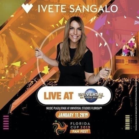 Ivete Sangalo Orlando Universal