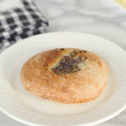 Sourdough Bialys with Onion & Poppy Seeds