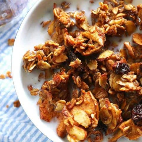 Apple Cinnamon Raisin Granola