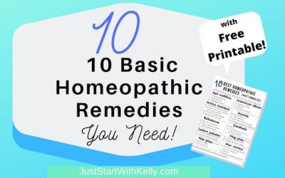 10 Best Homeopathic Remedies & How to Use Them