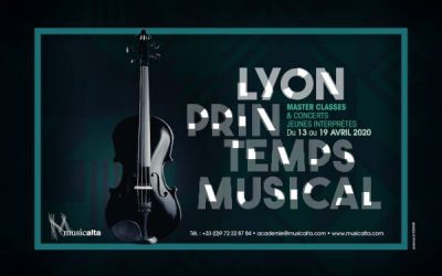 Lyon Printemps Musical, start of applications