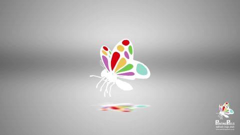Logo Ident - Sliced Style Animation 7