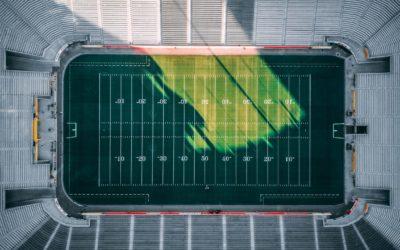 Football für Zuschauer – das Spielfeld