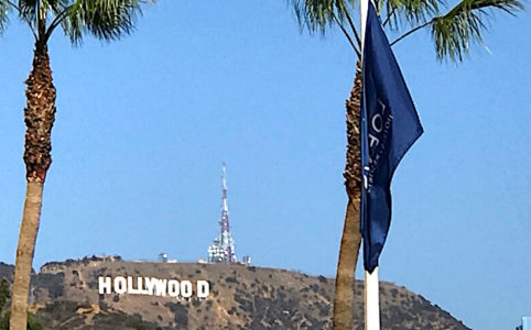ロサンゼルスの観光名所、ハリウッドの看板