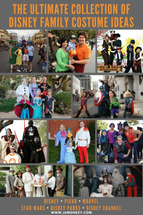The Ultimate Collection of Disney Family Costume Ideas