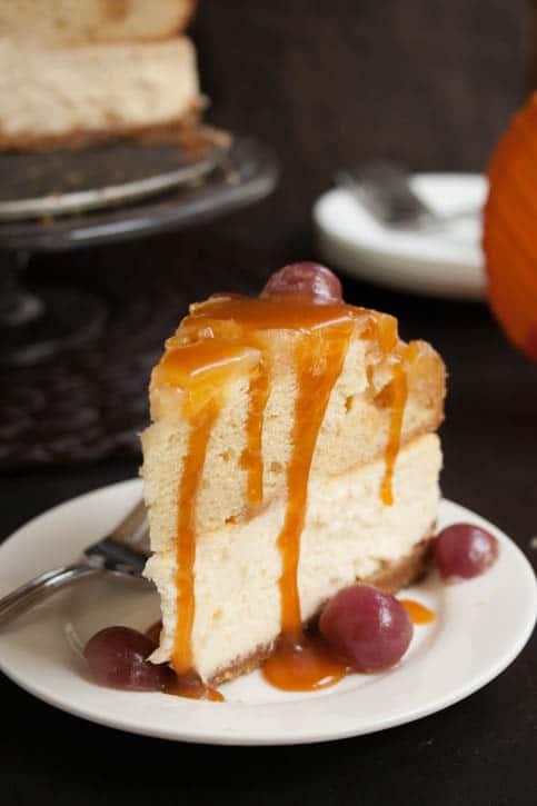 Pineapple Upside Down Cheesecake Cake-10