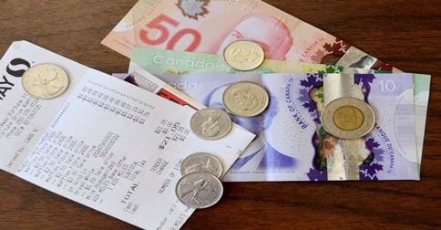 Canadian Dollar and Shopping in Canada