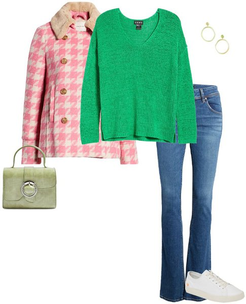 sweater and jeans | 40plusstyle.com
