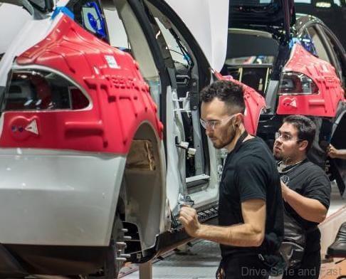 Tesla production