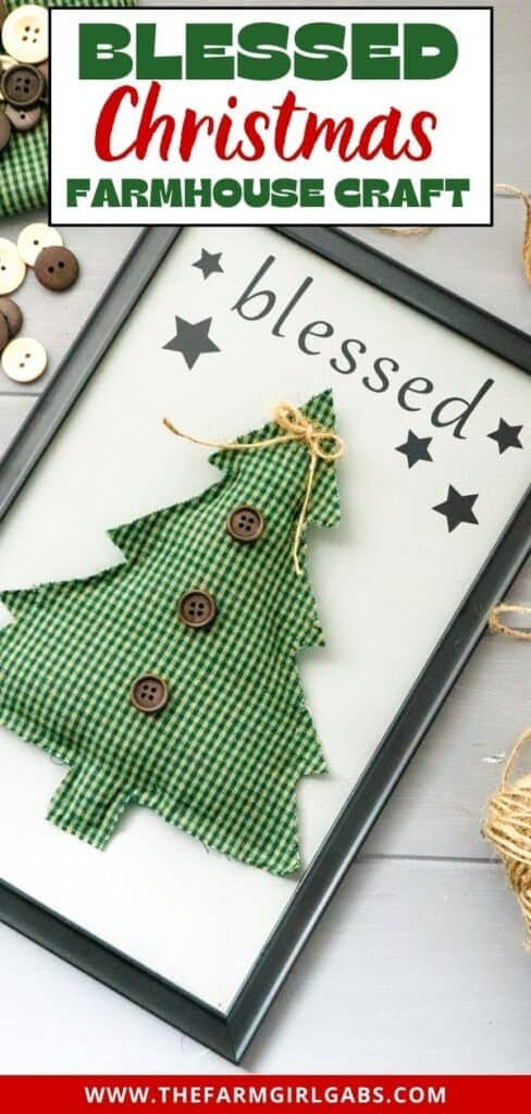 Blessed Farmhouse Christmas sign