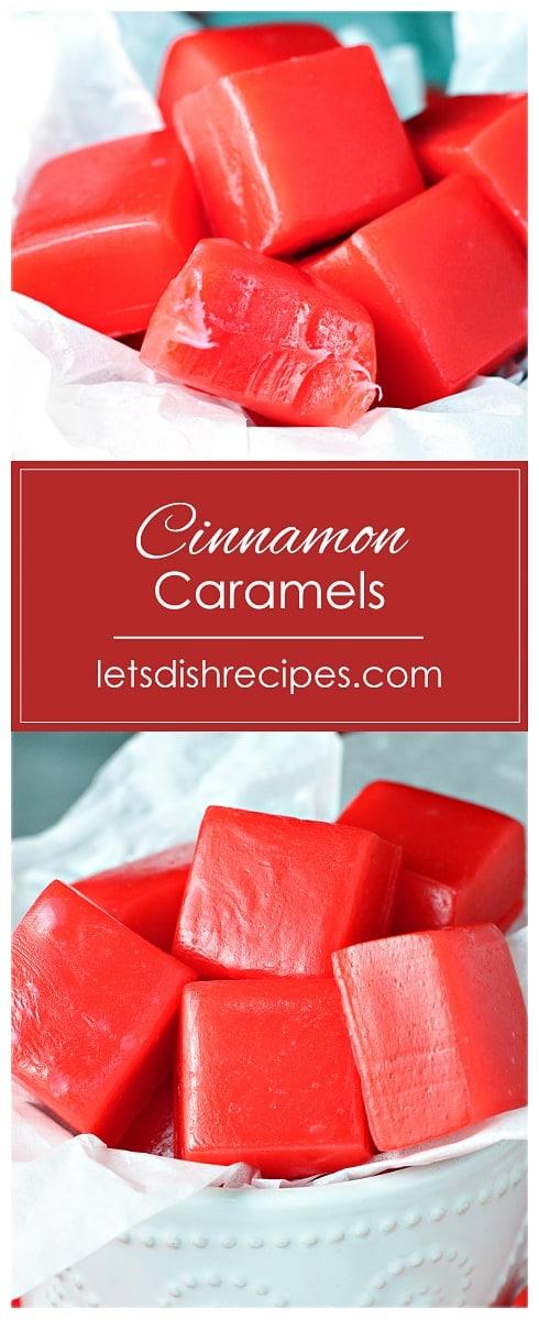 Cinnamon Caramels