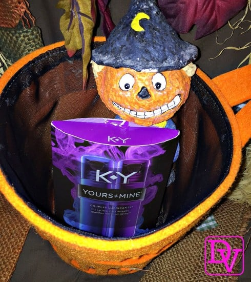 Yours+Mine at Walmart, K-y, Passion, Halloween Intimacy, Halloween lust, Halloween Spice, Halloween for Adults, Tricks of Halloween Intimacy, dana vento, ad