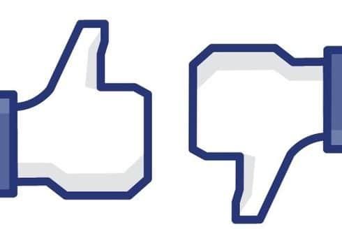 Facebook like unlike