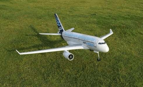 Planta do A320 Aeromodelismo
