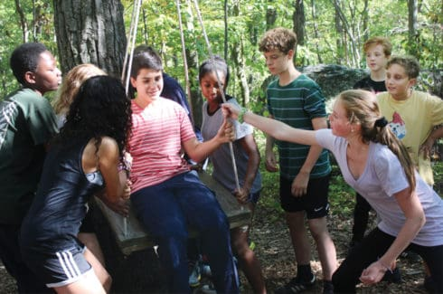Class Trips to Clearpool Participate in Outdoor Education Activities