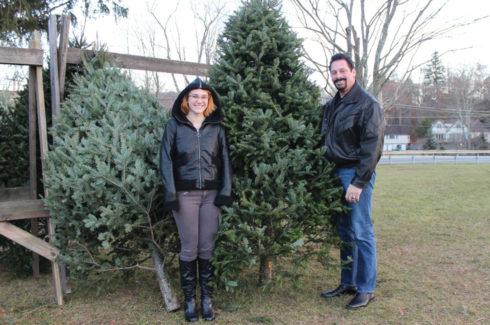 Holidays on the Farm features Christmas trees, wreaths, handmade gifts and more