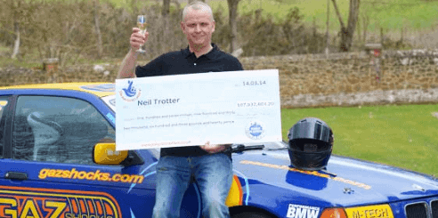 EuroMillions winner Neil Trotter