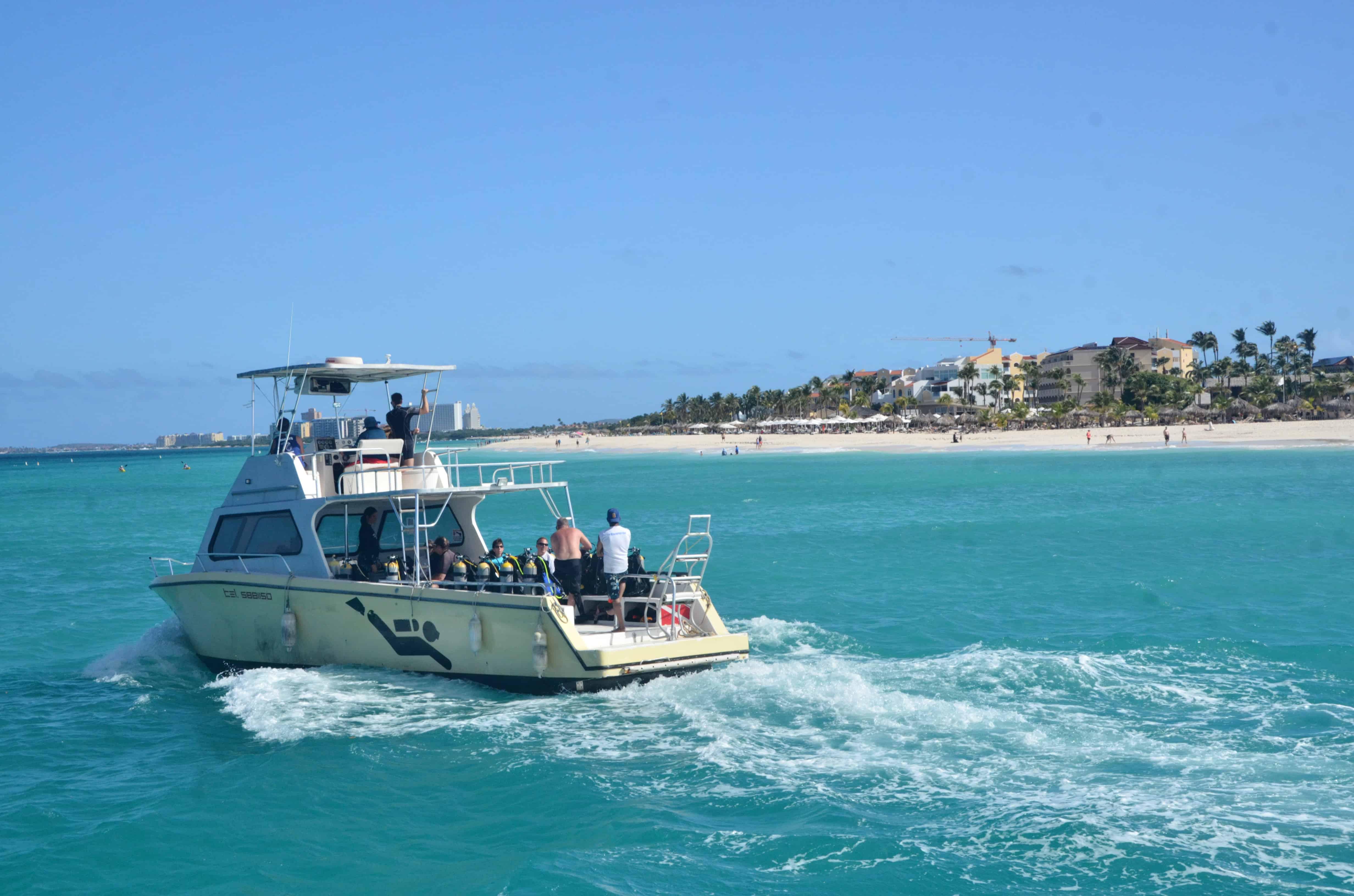 how is diving in Aruba?