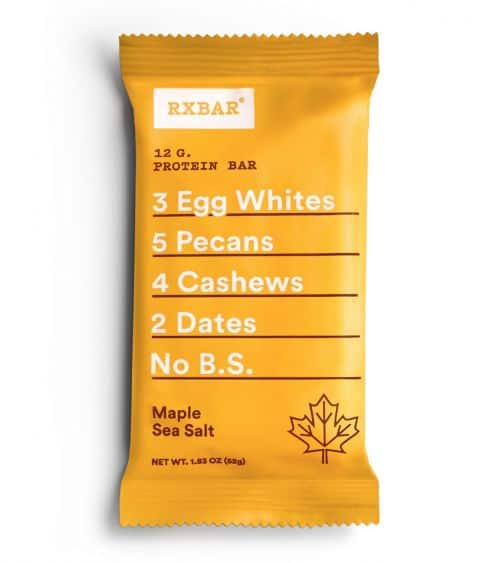 RXBar Maple Sea Salt