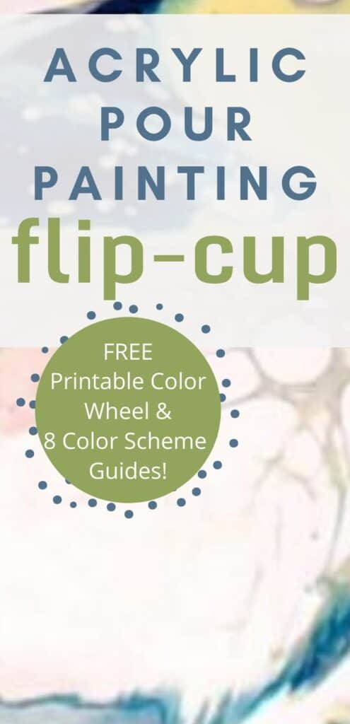 Acrylic Paint Pouring Flip-cup