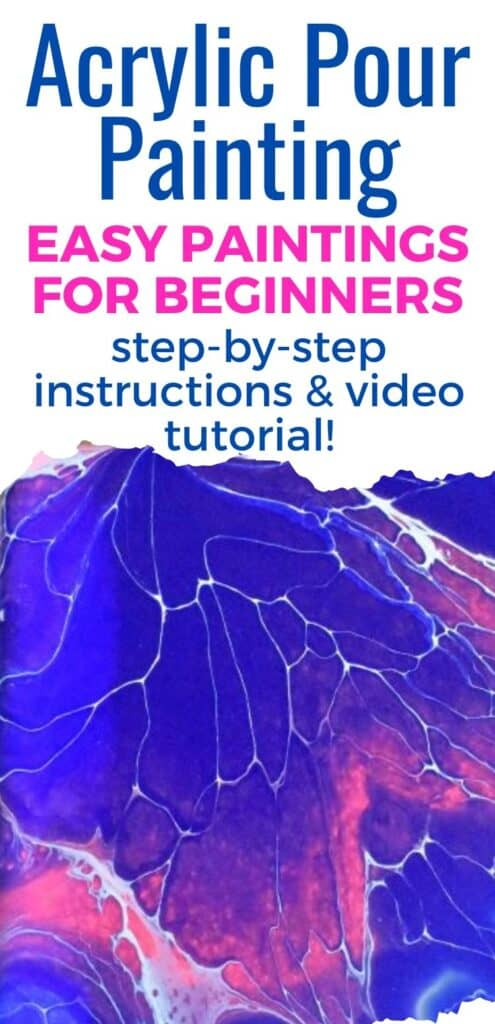 Acrylic Pour Painting Easy Paintings for Beginners2