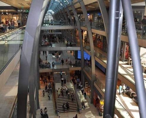 Europa Passage shopping Center Hamburg