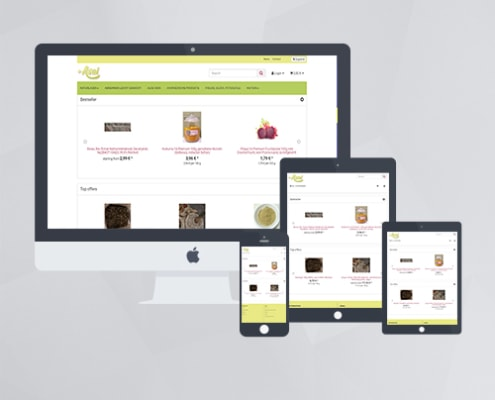 Webdesign - asai.at Onlineshop mit JTL Shop