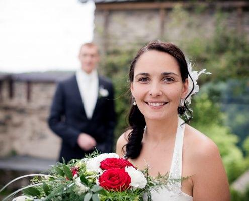 Hochzeit in Thüringen Brautpaar