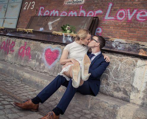 Hochzeitsshooting am Zughafen in Erfurt