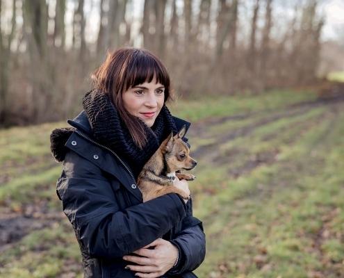 Hundefotoshooting in freier Natur