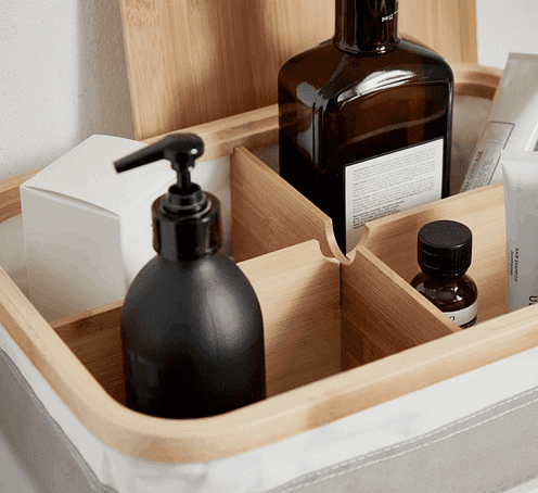 Storage box with inner containers