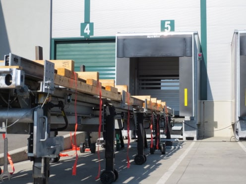 SIMPLY. material handling system makes it easy to store, transport, sort and find heavy goods easily.