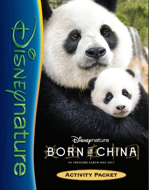 Born in China Activity Packet