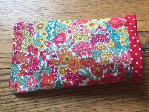 Glasses case sewing project