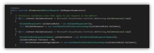 Generated Override Version of Executed WebTestRequest Objects in Visual Studio