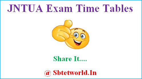 JNTUA 2-1 Time Table, JNTUA 2-1 R15 Time Table, JNTUA 2-1 R15 Regular Time Table, JNTUA 2-1 R13 Supply Time Table, JNTUA 2-1 R09 Supply Time Table