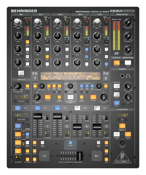 Pic-Event Location table mixage dj behringer ddm4000