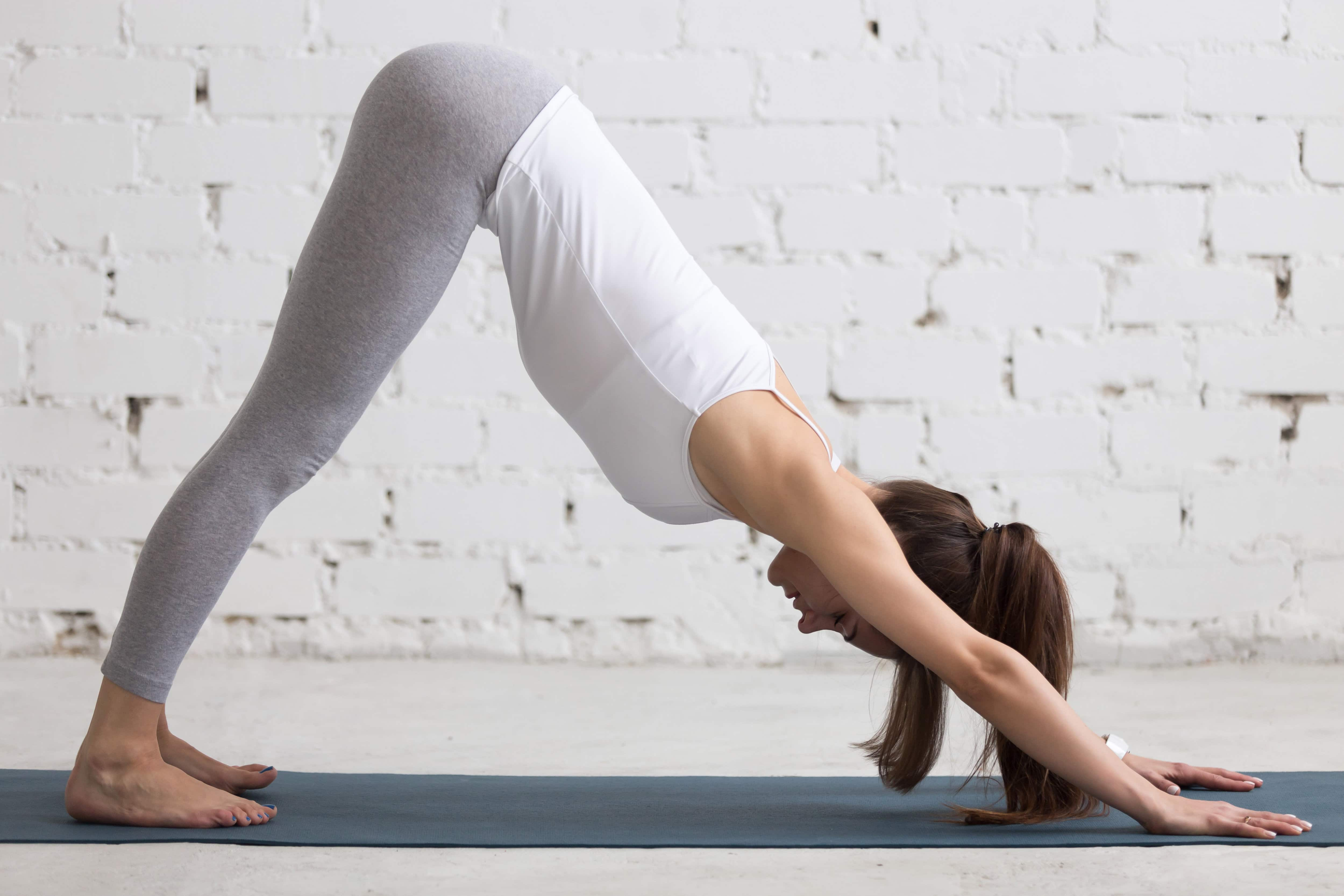 Parvatasana is the Eighth Posture of Sun Salutation. It is also called THE MOUNTAIN POSE.