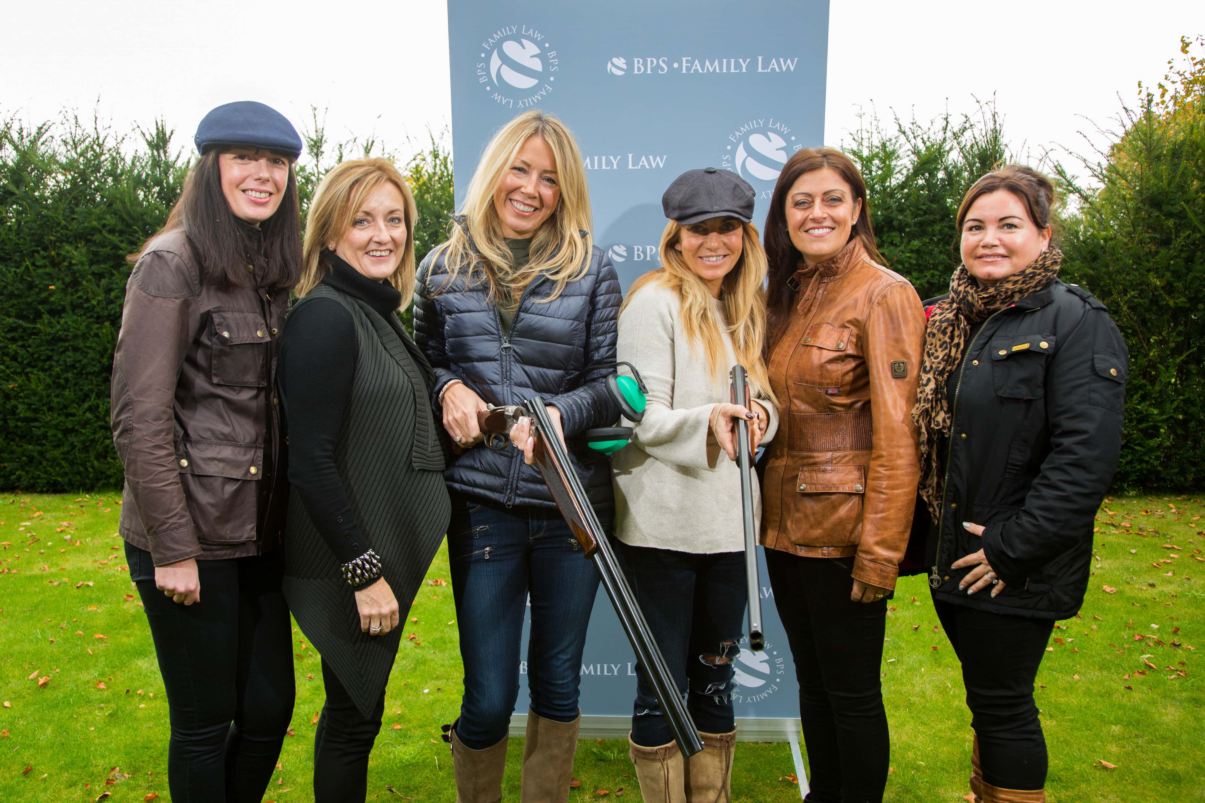 BPS Family Law annual ladies' clay pigeon shoot